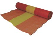 997 ORANGE AND YELLOW WOVEN BARRIER MATERIAL