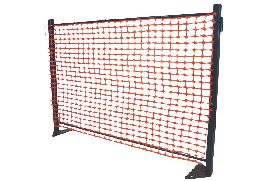 Joluka modular barrier system joluka construction supplies for Schreibtisch 2m x 1m