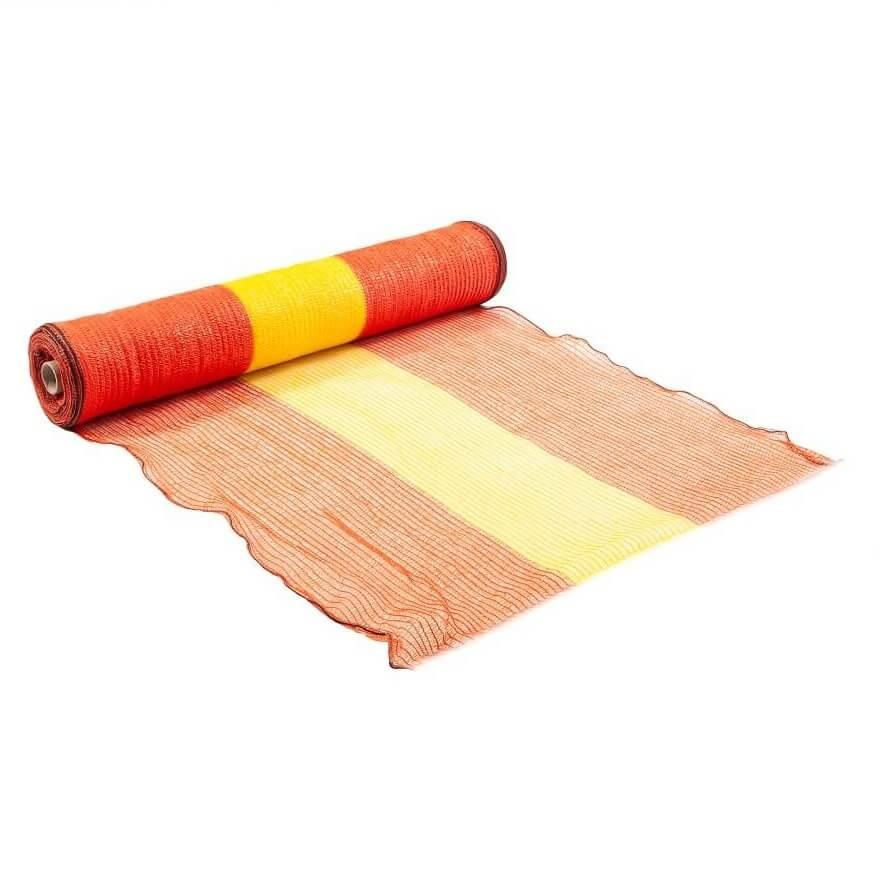 JOluka Orange and Yellow Woven Netting