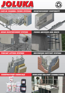 Joluka Engineered Systems for Reinforced Concrete and Brick Structures