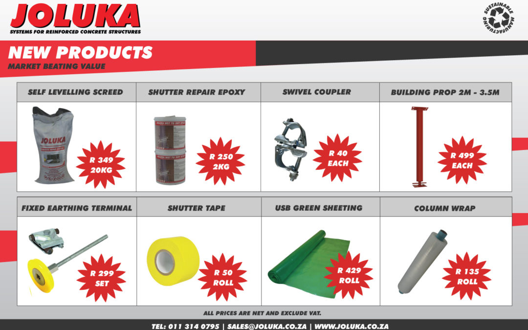 Joluka's New Products
