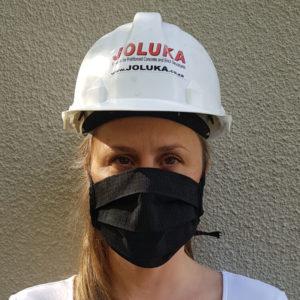 Joluka Washable Face Mask Black
